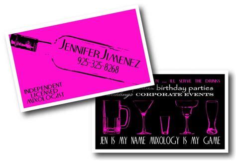 bartending business cards mixologist bartender business cards we