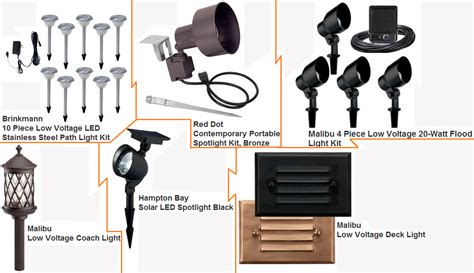 home depot landscaping lights how to choose the right landscape lighting the home