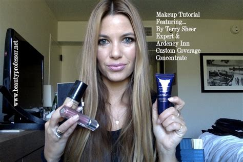by terry by terry by by terry sheer expert perfecting fluid foundation travel makeup routine feat by terry sheer expert