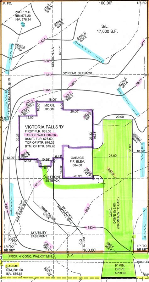 a victoria falls in palmer village floor plans side entry garage driveway dimensions pilotproject org