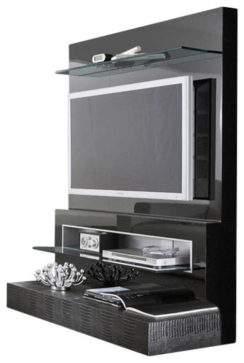 contemporary tv cabinets for flat screens rossetto diamond flat screen tv stand black lacquer