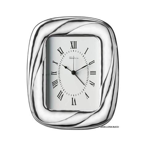 orologio sveglia da tavolo orologio sveglia da tavolo in argento vl12513 3xorl