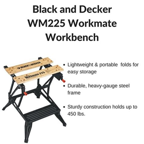 black and decker workmate accessories qoo10 black and decker wm225 workmate workbench as seen