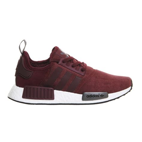 Adidas Nmd Runner For adidas nmd r1 runner suede w maroon
