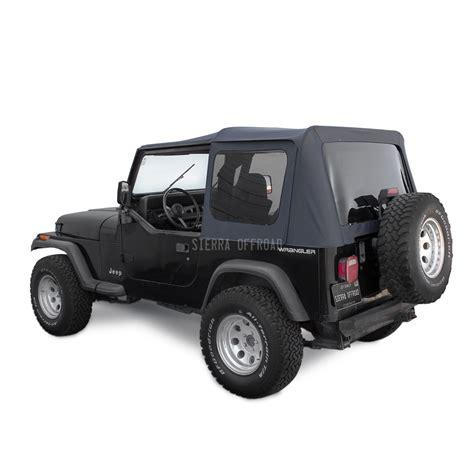 95 Jeep Wrangler Soft Top Offroad Jeep Wrangler Yj Soft Top 88 95 In Black