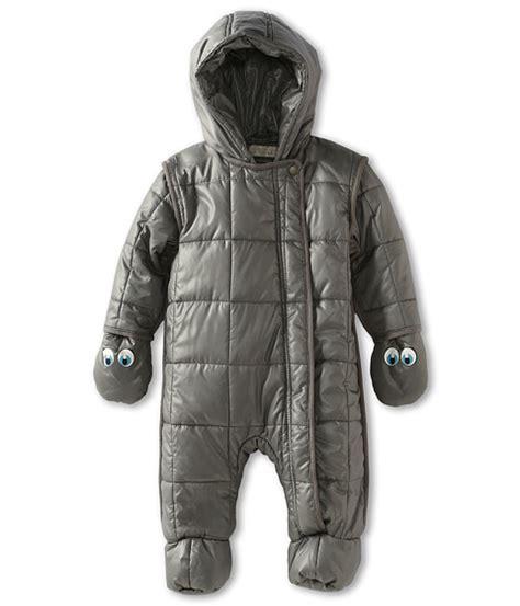 209 2in1 Teddy Black N Pink snowsuits for babies popsugar