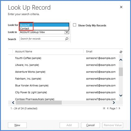 Phone Lookup Customer Service Restrict Customer Lookup To Account Or Contacts In Crm