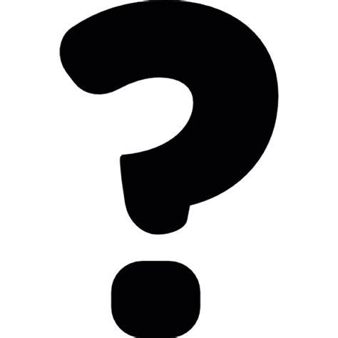 imagenes simbolos de interrogacion signo de interrogaci 243 n s 237 mbolo negro descargar iconos gratis
