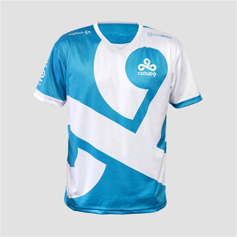 Baju Jersey Gaming Team Dota 2 25 dota2 lol csgo team c9 cloud9 jersey t shirt csgo