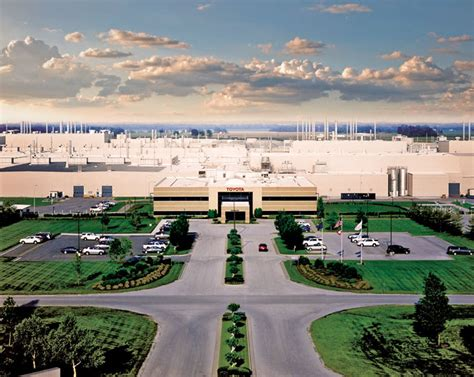 Toyota Plant Indiana Special Advertising Section Indiana Manufacturing Is