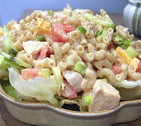 chicken pasta salad recipe chicken macaroni salad recipe food com