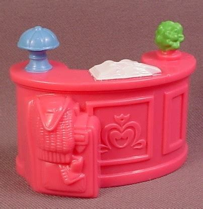 Fisher Price Vanity Table by Fisher Price Sweet Streets 2002 Pink Hotel Desk With