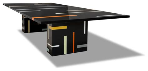 corian inlay corian inlay dining table modern dining tables