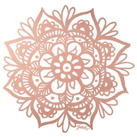 Mandala Gold gold mandala design julie erin designs