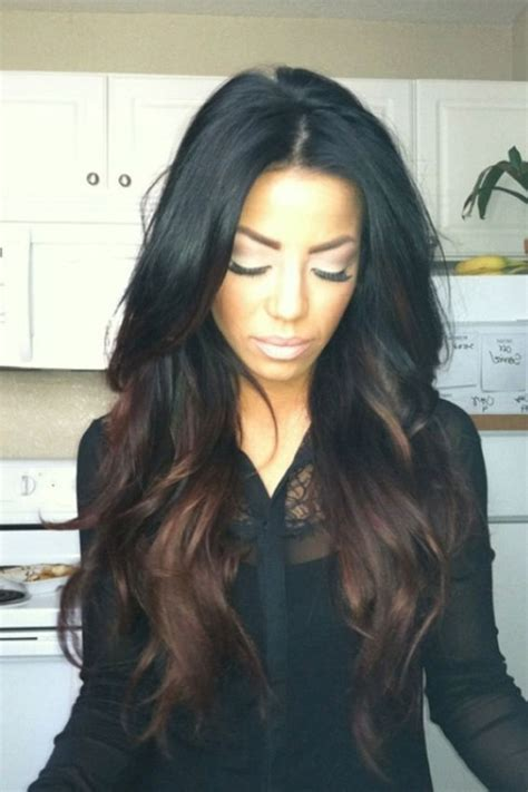 ombre styles for black women ombre hair color on black women long hairstyles of ombre