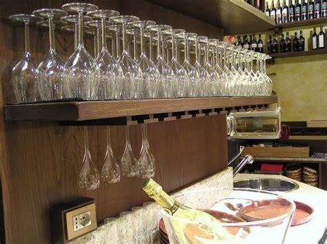 appendi bicchieri bar il portale delle osterie