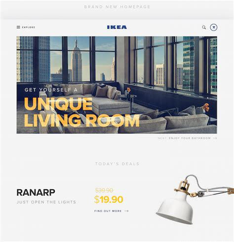 ikea redesign redesign concept gives ikea s online store a refreshing