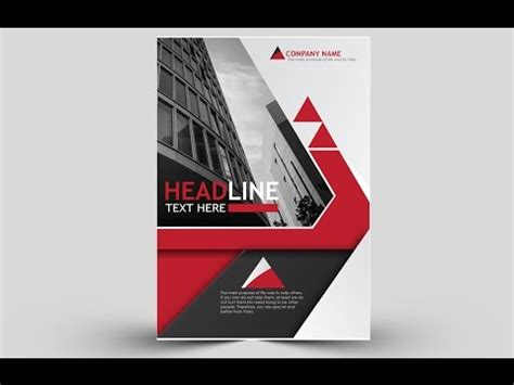 easy flyer design tutorial adobe illustrator youtube how to easily create cool brochure using adobe illustrator