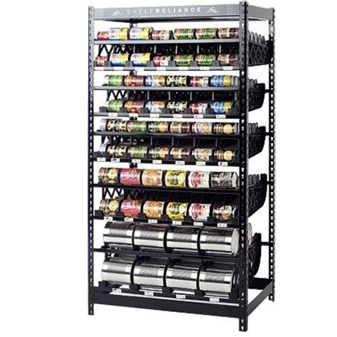 Can Organizer Rack by Food Rotation System Canned Soup Can Storage Rack