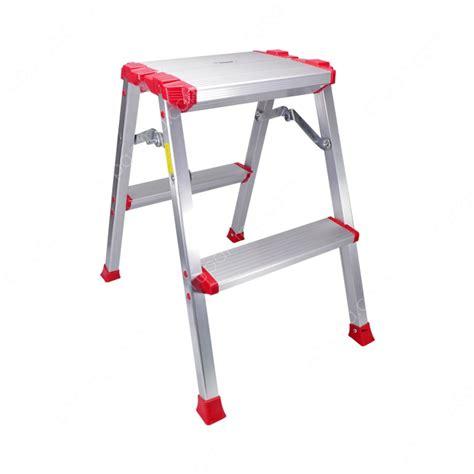 jual krisbow tangga aluminium  pijakan lebar  step