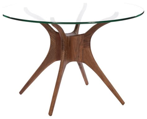 roku glass dining table modern dining tables