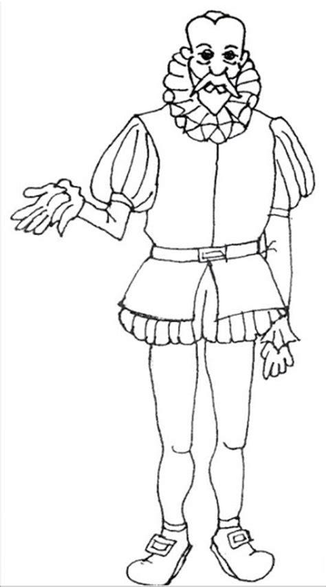 imagenes para colorear miguel de cervantes saavedra el quijote dibujos para colorear