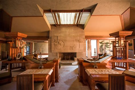 Celebrating Home Interior a full tour through frank lloyd wright s first la house