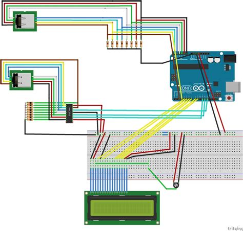 rj45 network cable tester circuit schematic efcaviation