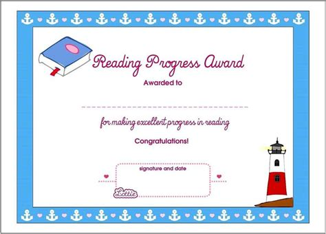 html printable certificate free printable award certificates for kids template