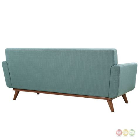 button tufted loveseat engage modern 2pc upholstered button tufted loveseat and
