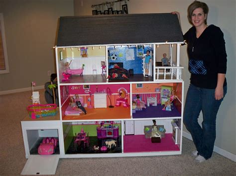 how to build a barbie doll house from scratch the coolest barbie house ever house pinterest