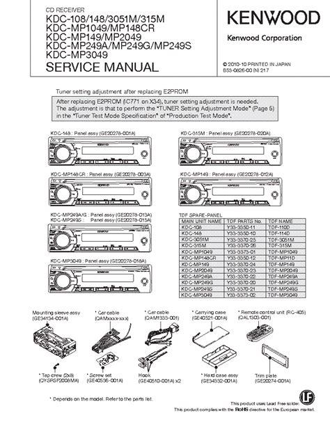 kenwood kdc 148 wiring diagram wiring diagram with
