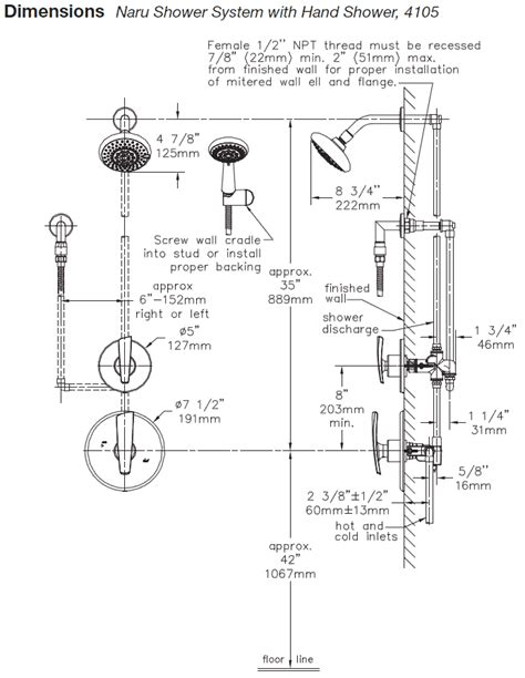 How To Install A Shower System by Symmons Naru Tub Shower Systems