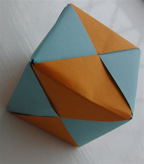 Triangular Origami - origami how to create d triangle origami fox box