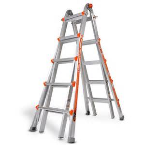 Amazing stable little giant ladder