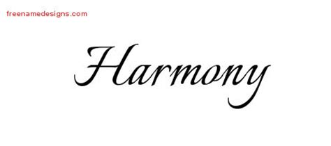 harmony archives free name designs