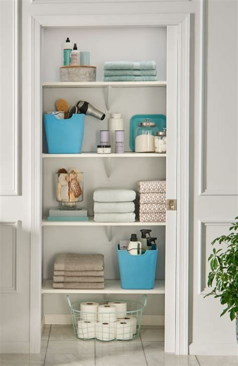 how to organize bathroom closet 17 best ideas about linen closets on master