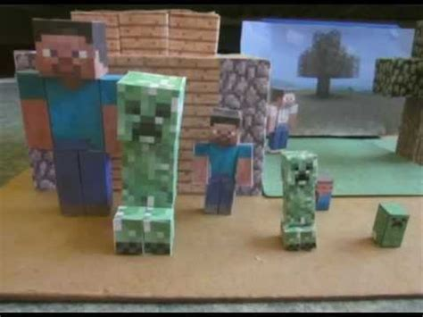 Minecraft Papercraft Collection - minecraft papercraft my collection