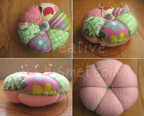 Patchwork Pincushions To Make - patchwork pincushion tutorial flickr photo