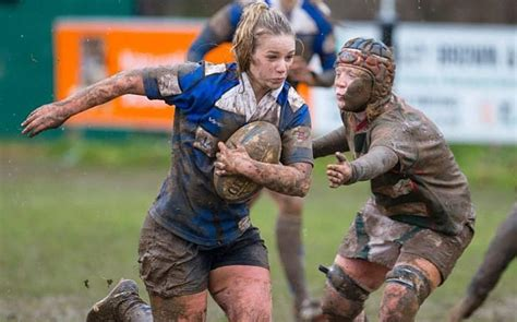 Baths Vs Showers rugby why schoolgirls need to get down and dirty with it
