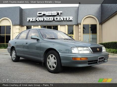 1995 Toyota Avalon Xls Silver Spruce Metallic 1995 Toyota Avalon Xls Beige