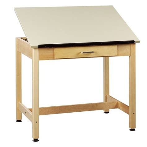 Diversified Woodcrafts Dt 1a30 Uv Finish Solid Maple Wood Solid Wood Drafting Table