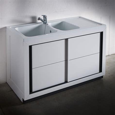 meubles evier meuble evier exterieur cool evier en bton blanc cass et