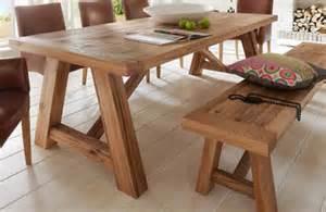 Farm Style Dining Room Table rustikaler esstisch