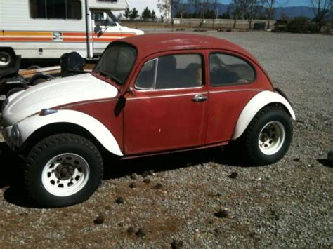 purchase   volkswagon beetle baja automatic stickshift fiberglass kit lifted video