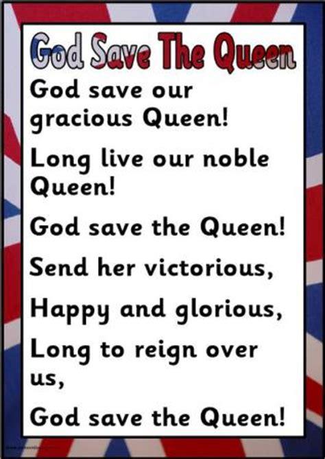 full version god save queen lyrics free diamond jubilee teaching resources posters