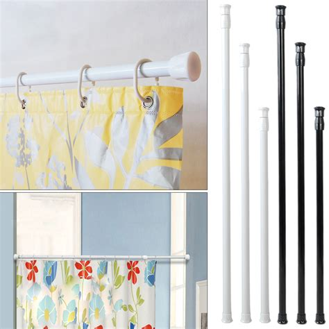 spring shower curtain rod extendable spring tension rod pole shower curtain bathroom