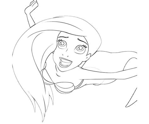 cute ariel coloring pages coloring pages ariel little mermaid coloring pages az coloring pages
