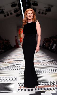 Katharines Runway Strut For Charity by A Model Royal Fergie S Eye Popping Strut For Charity