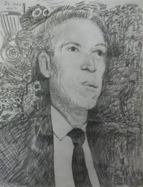 H P Lovecraft Sketches by H P Lovecraft Pencil Sketch By Misterwackydoodle On
